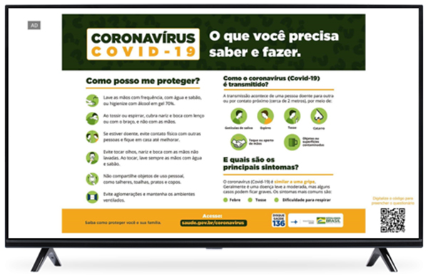 COVID-19 awareness campaign highlights effectiveness of connected TV advertising for Brazilians